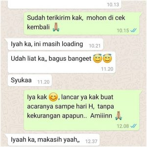 testimoni video undangan pernikahan (1)