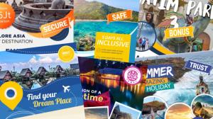 video promosi produk agen perjalanan wisata
